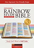 img - for KJV Rainbow Study Bible, Cocoa/Terra Cotta/Ochre LeatherTouch, Indexed book / textbook / text book