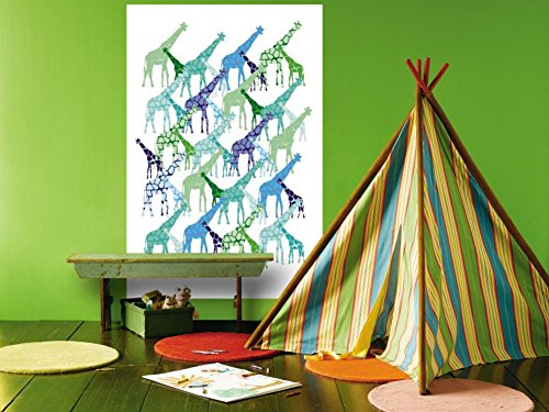 Giraffe Pattern Wall Mural by Avalisa 48 x 72in Avalisa Pattern