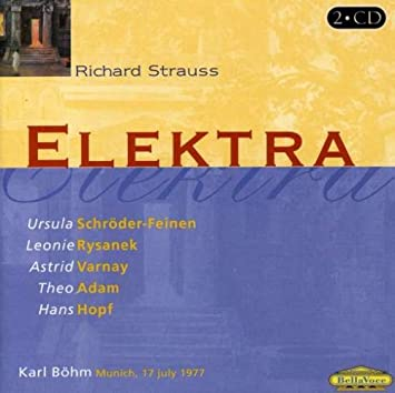 Richard Strauss, Karl Bohm, Leonie Rysanek - Elektra