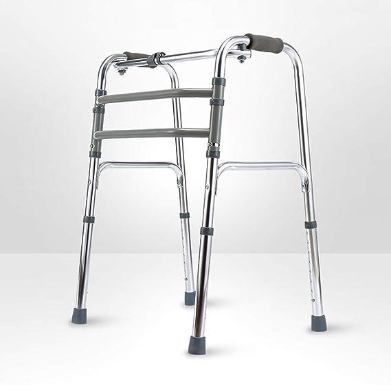 Ancianos Walker Aleación de Aluminio Soporte de Cuatro Patas ...