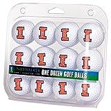 LinksWalker NCAA Illinois Illini - Dozen Golf Balls