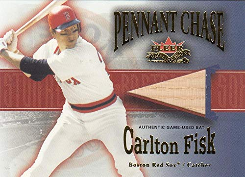 2002 Fall Classics Pennant Chase Game Used #CF Carlton Fisk Bat NM-MT+ MEM Boston Red Sox from Fall Classics
