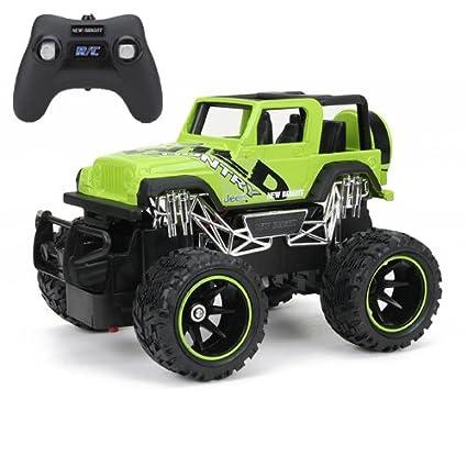 Amazon Com New Bright F F Jeep Wrangler Rc Car 1 24 Scale Toys