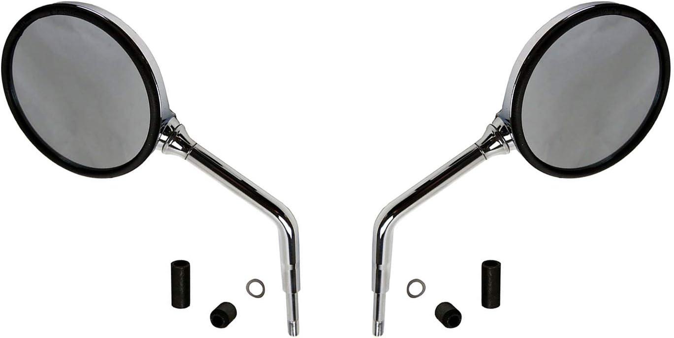 Spiegel x2 Paar Ersatzteil f/ür//kompatibel mit BMW R 1200 C 850 R1200 R800 chrom