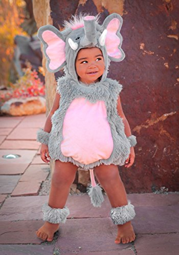 Princess Paradise Baby's Elsa The Elephant Deluxe Costume, As Shown, 18M/2T