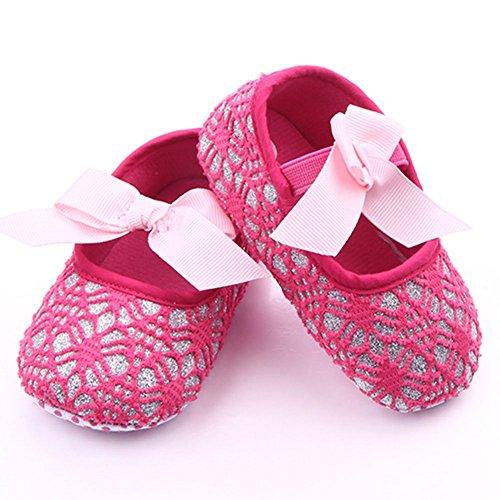 Etrack-Online , Baby Jungen Lauflernschuhe pink Hot Pink 6-12 Monate Hot Pink