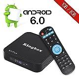 Kingbox K1 Plus Android 6.0 TV Box 4K/S905X/64Bit/1+8GB/2.4G Wifi/100M ANDROID TV BOX