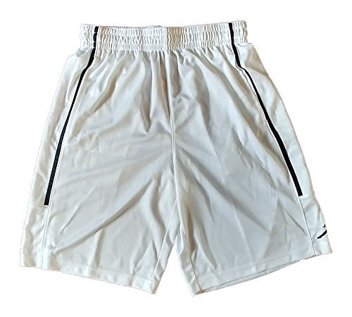 ce9b53840a3af6 NIKE Air Jordan Mens Jumpman Double Crossover Shorts AA1383 100 White  (X-Large) - Buy Online in UAE.