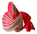Traditional Handmade Islamic Muslim Safa Turban Men Hat Pathani Pag Kcit145