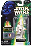 Star Wars CommTech Luke Skywalker figure with T-16 Skyhopper model. While tinkering with his model T-16 skyhopper and tending to his uncle's new droids, Luke unwittingly short circuits R2-D2's recording system, triggering the holographic appearance o...