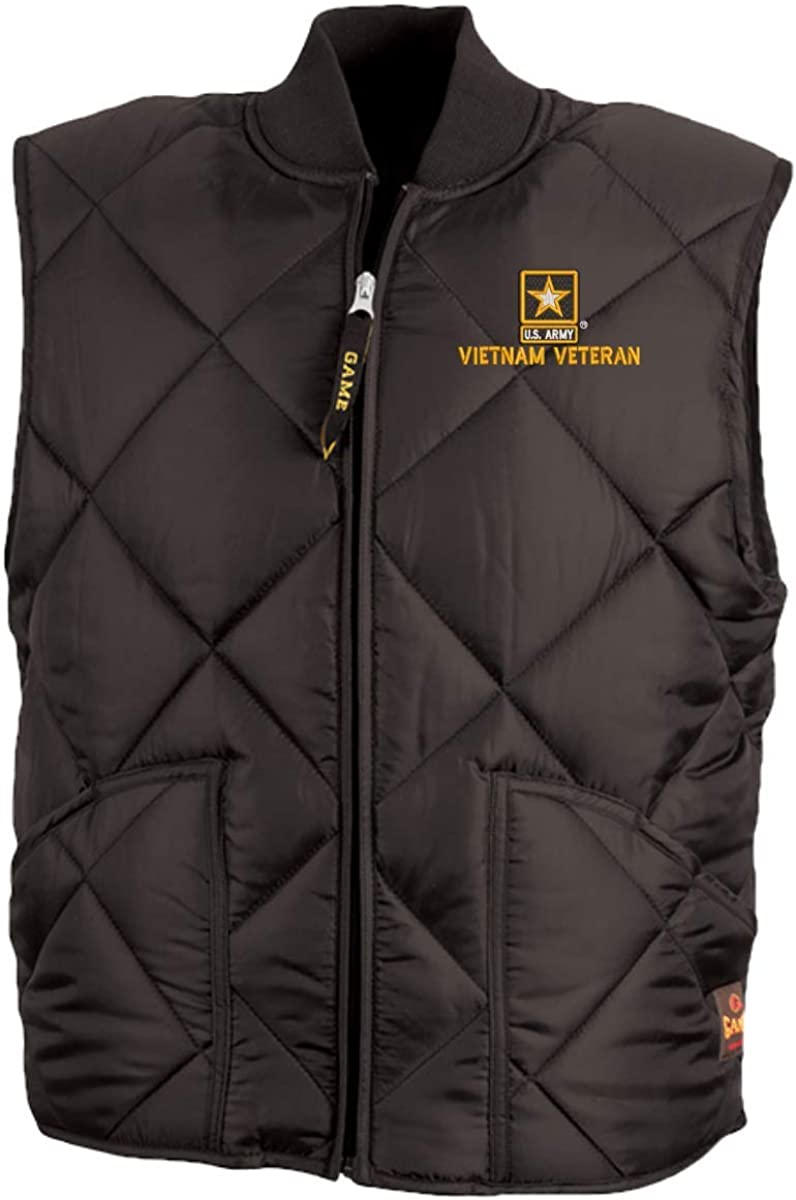 Army Star Logo Vietnam Veteran Game Sportswear Finest Vest U.S