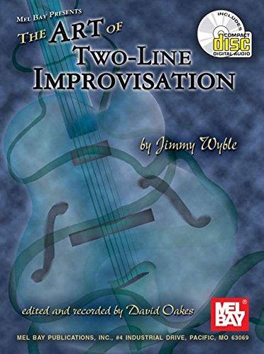 Art Of Two-Line Improvisation Book/CD Set
