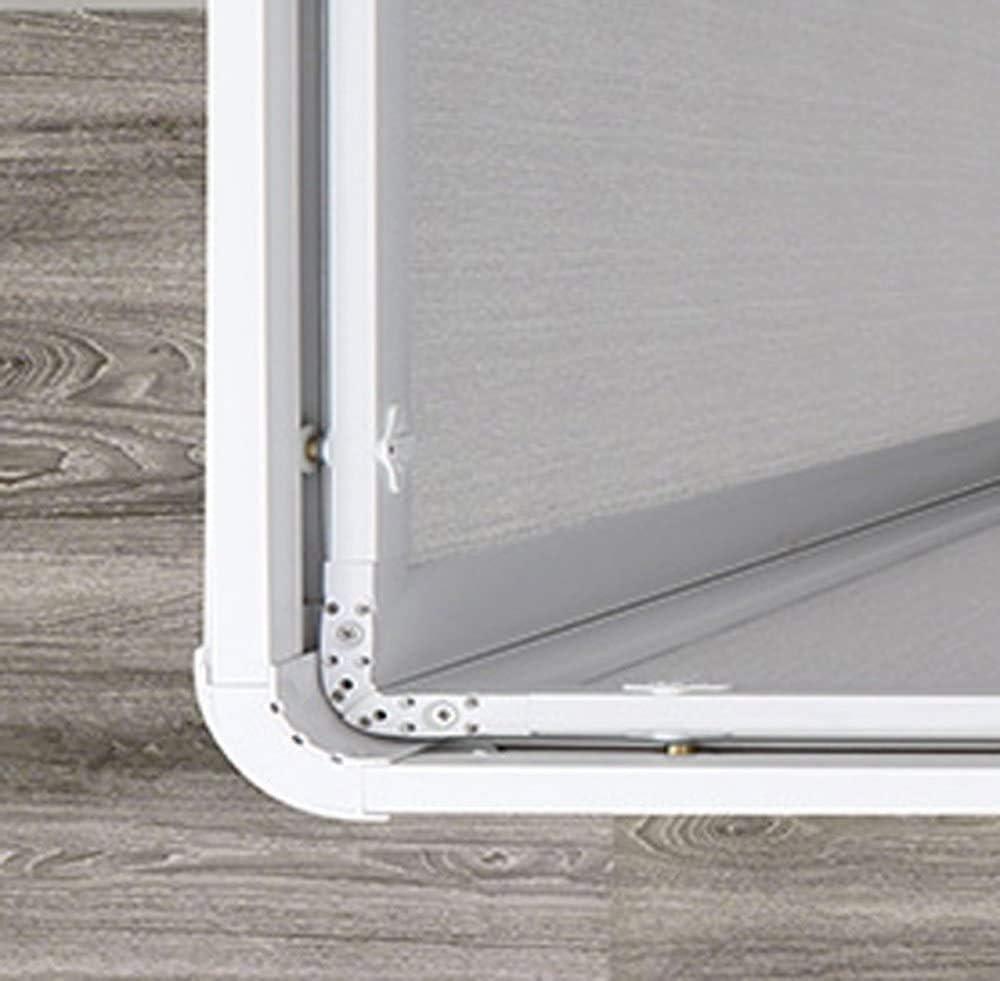 Forte bse100001 Box ducha Smart ángulo pvc-acrilico, riducibile ...