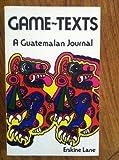 Game Texts, Erskine Lane, 0917342593
