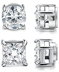 Jstyle Jewelry: Your Reliable Choice of Fashion Jewelry High average review rating of jewelry collection. All handmade jewelry, well polished and one by one quality controlled. Affordable prices and luxury appearance.Jstyle 2 Pairs Stainless...