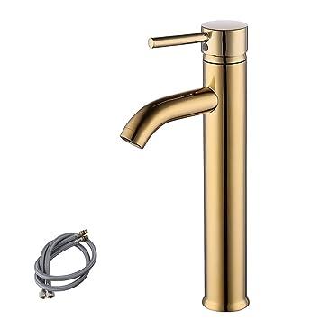 Kes Cupc Nsf Certified Brass Faucet Bathroom Sink Brass Single Hole