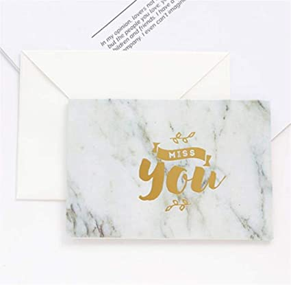 Amazon party supplies accessories simplicity marble grain retro party supplies accessories simplicity marble grain retro greeting card holiday new year card blessing card m4hsunfo