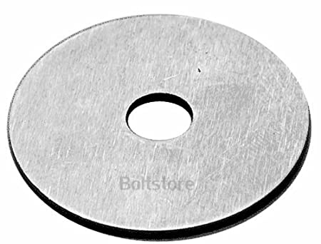 8.4mm x 40mm A2 Stainless Steel Large Flat Repair Washer Free UK Delivery M8 Penny Repair Washers 16 PACK
