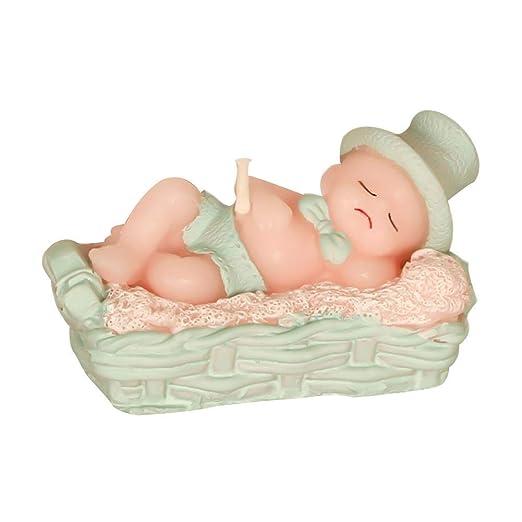 HoneybeeLY - Vela de cumpleaños para bebé, diseño de bebé ...