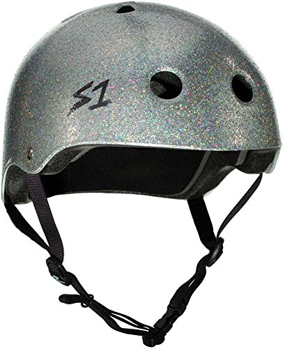 S-ONE Lifer CPSC - Multi-Impact Helmet - Silver Glitter - Large (22