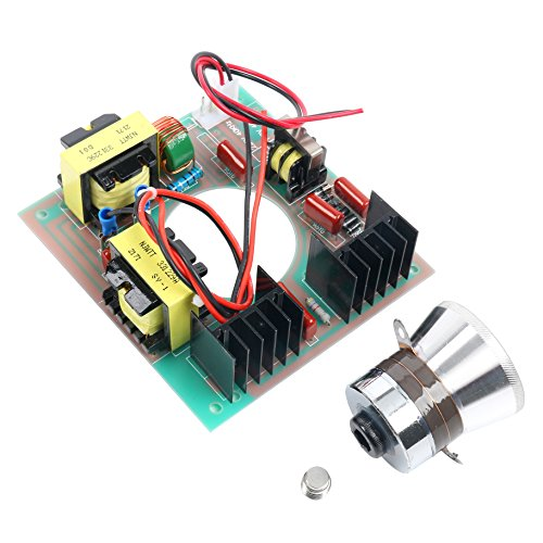 60W 40KHz Ultrasonic Cleaning Transducer Cleaner + Power Driver Board 110V AC by YaeCCC (Image #3)