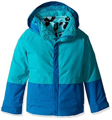 Burton Youth Girls Gemini System Jacket, Everglade/Athens, Small