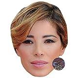 Celebrity Cutouts Aída Yéspica Big Head. Larger Than Life mask.