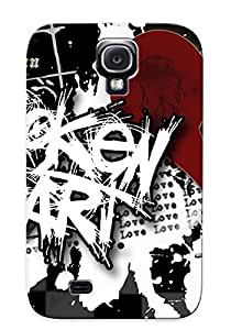 Galaxy S4 Case Cover Emo Heart Case - Eco-friendly Packaging