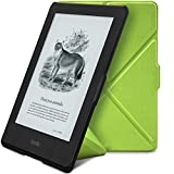Ayotu Colorful Case for All-New Kindle 8th Generation 2016 Release E-Reader Smart Protective Cover,Case for All-New Kindle (6' Display),Folding Series Stand Sleeve Protective K8-10 Green