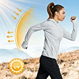 Libin Women's Full Zip UPF 50+ Sun Protection