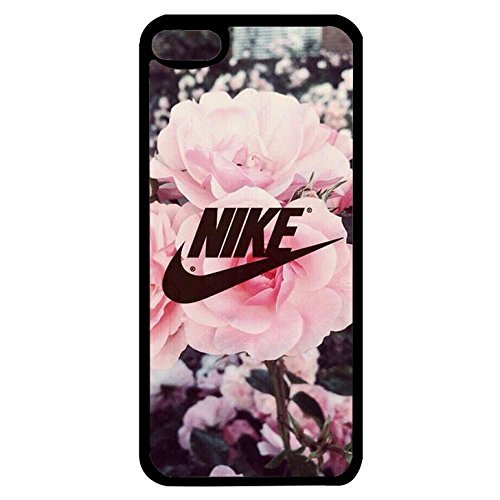 Price comparison product image Appealing Floral Background Design Nike Phone Case Cover for Ipod Touch 6th Generation Just Do It Luxury Pattern