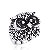 GDSTAR ed Vintage Owl Ring For Men and Woman Top seller 13.0