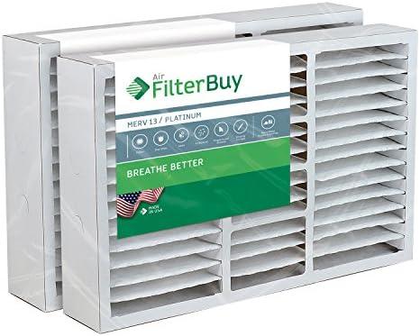 [해외]FilterBuy 16x25x5 Honeywell FC200E1029 Compatible Pleated AC Furnace Air Filters (MERV 13 AFB Platinum). Replaces Honeywell 203719 FC35A1001 FC100A1026 FC100A1029 and Carrier FILXXCAR0016. 2 Pack. / FilterBuy 16x25x5 Honeywell FC20...