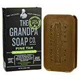 Grandpas Pine Tar Soap 4.25 Ounce Bar