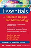 img - for Essentials of Research Design and Methodology by Geoffrey R. Marczyk (2005-03-02) book / textbook / text book