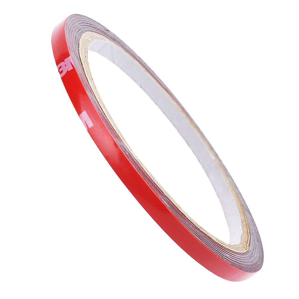 3M 4229P adhesive tape, high performance adhesive tape, double sided adhesive tape, mounting adhesive tape, 5 mm x 3 m tape, in resealable zip pouch. Ossa