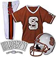 Franklin Sports NCAA North Carolina State Wolfpack Deluxe Youth Team Uniform Set, Small