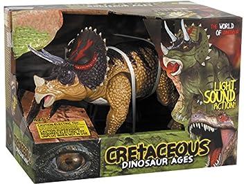 DQTOYS Triceratops Andador 25 cm.: Amazon.es: Juguetes y juegos