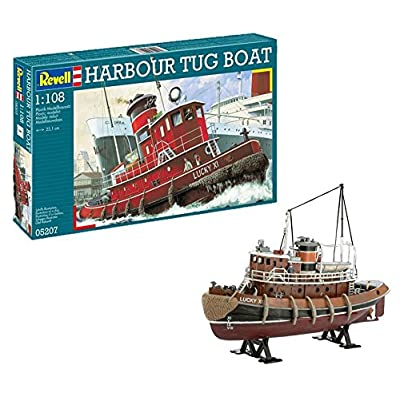 Revell 05207 Harbour Tug Boat: Toys & Games