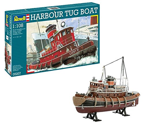 Scale Model Tugs - Revell Harbour Tug Boat