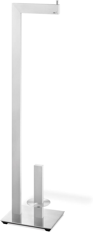 Acero Inoxidable 18 x 15 x 72.7 cm ZACK ZK40379 PORTARROLLOS WC C//RECAMBIO Acciaio Inox