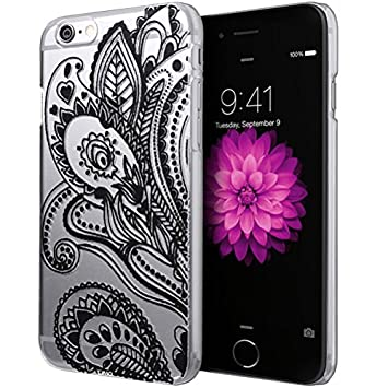 SheepRiver-UK - Carcasa para iPhone 6 (4,7, de cuero, con ...