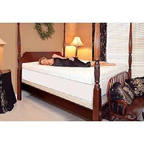 Slumber Solutions Highloft Supreme 4-inch Memory Foam Mattress Topper, Size King