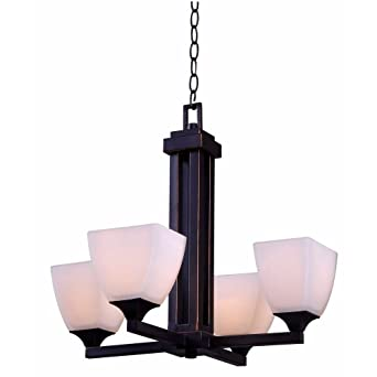 hampton bay mattock 4light oil rubbed bronze chandelier