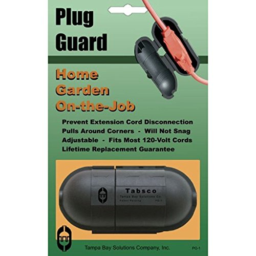 Tabsco Plug Guard - Cable Management Plug Guard and Extension Cord Connection