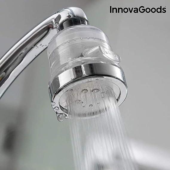 InnovaGoods| Ecogrifo con filtro purificador de agua | 6 x 6 x 8 ...