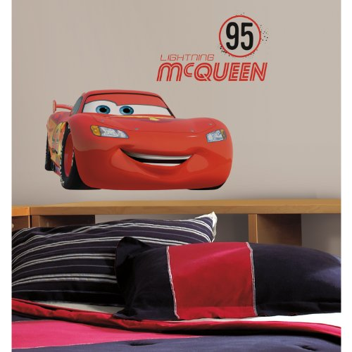RoomMates RMK2589GM Lightning McQueen Number product image