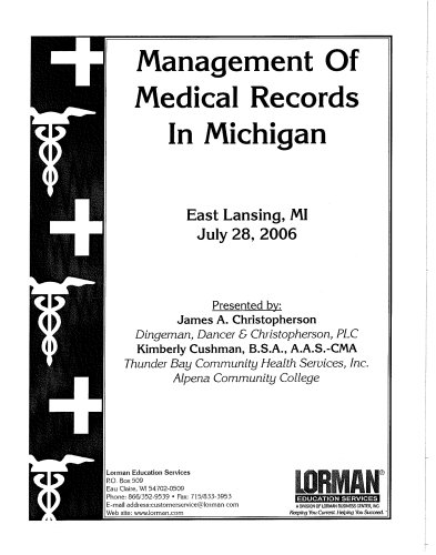 Management Of Medical Records in Michigan