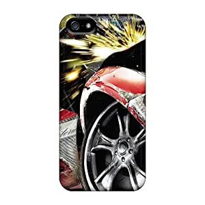 New Arrival Iphone 5/5s Case Burnout Paradise Widescreen Case Cover