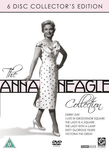 Anna Neagle Collection - 6-DVD Box Set ( Derby Day / I Live in Grosvenor Square / The Lady Is a Square / The Lady with the Lamp / Sixty Glorious [ NON-USA FORMAT, PAL, Reg.2 Import - United Kingdom ]
